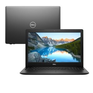 "Notebook Dell Inspiron I3 I15-3584-AS50P, 8ª Geração Intel Core i3, 4GB, 256GB SSD, Tela 15.6"", Windows 10, Preto"