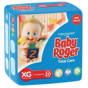 Fralda Descartavel Roger Baby Economica Top Care Extra Grande 6X20      -