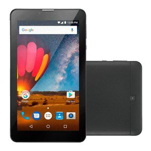 "Tablet Multilaser M7 Plus NB269, Preto, Tela 7"", WiFi, Android 8.1, 8GB"