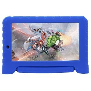 "Tablet Multilaser Vingadores Plus NB307, Azul, Tela 7"", Wi-fi, Bluetooth, Android Oreo, 2MP, 16GB"