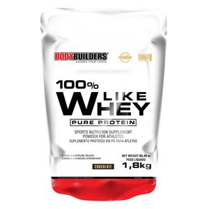 100% Like Whey Pure Protein 1,8kg Chocolate – Bodybuilders
