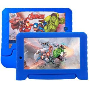 "Tablet Multilaser Marvel Vingadores NB280, Azul, Tela 7"", WiFi, Android 7.0, 2MP, 8GB"