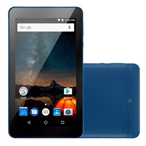 "Tablet M7-S NB274 Quad Core, Android 7.0, 8GB, Tela 7"", Dual Camera, DARK BLUE (Emb. contem 1un.)"