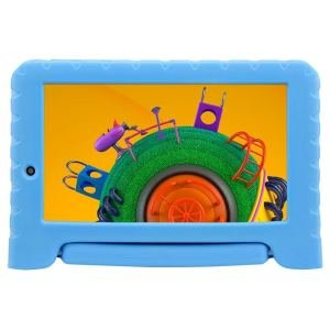 """Tablet Multilaser Discovery Kids, Azul, Tela 7"""", Wi-fi, Android Oreo, 2MP, 16GB"""