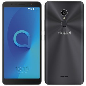 "Smartphone Alcatel 3C, Dual Chip, Preto, Tela 6"", 3G + WiFi, Android 7.0, Câmera 13MP, 16GB, TV Digital"