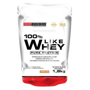 100% Like Whey Pure Protein 1,8kg Cappuccino – Bodybuilders