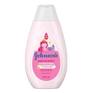 Condicionador Johnson & Johnson Baby Gotas de Brilho 200ml