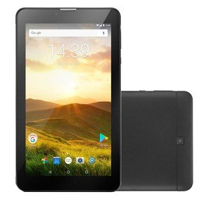 "Tablet Multilaser M7 Plus NB285, Preto, Tela 7"", WiFi, Android 8.1, 8GB"