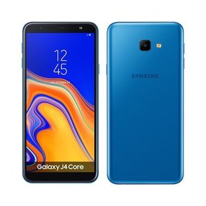 "Smartphone Samsung Galaxy J4 Core, Dual Chip, Azul, Tela 6"", 4G, Android 8.1, 8MP, 16GB"
