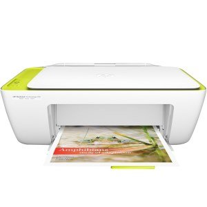 Multifuncional HP Deskjet Ink Advantage 2136, Jato de Tinta, Colorida, USB 2.0, Branco e Bivolt