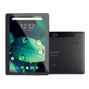 "Tablet Multilaser M10 NB287, Preto, Tela 10"", 4G+Wi-Fi, Android Oreo 8.1, 5MP e 16GB"