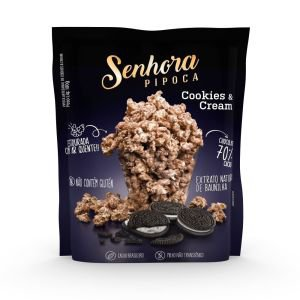 Pipoca Cookies and cream ( 1 unidade)